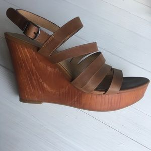 Lucky Brand Wedges sz 8